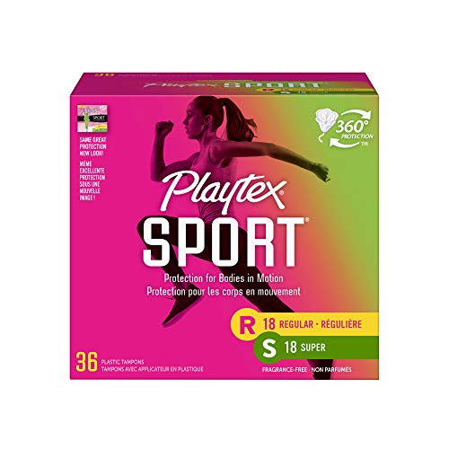 Playtex Sport Tampon Multipack, Unscented, 36 Count by Playtex Family Care, Inc. de Playtex
