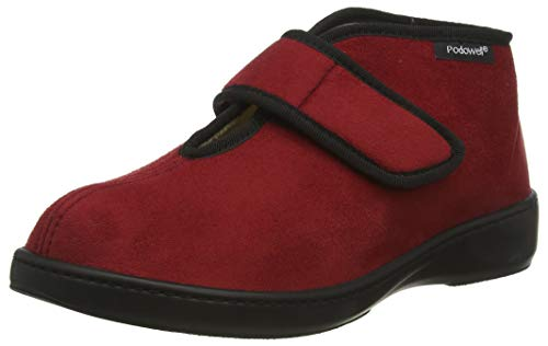 Podo Well Donuts, Chaussons Montants Mixte Adulte, Rot (Rot), 37 EU