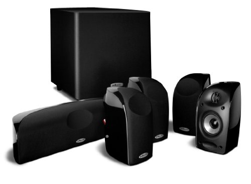 Polk Audio AM1665-B Lot de 6 Système de Haut Parleur Noir de Polk Audio