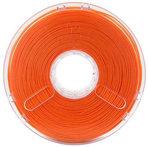Polymaker PolyMax PLA Jam Free Technology 1.75 mm 0.75 kg - True Orange de Buildtak