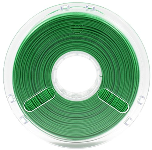 Polymaker PolyPlus PLA Jam Free Technology 1.75 mm 0.75 kg - True Green de Buildtak
