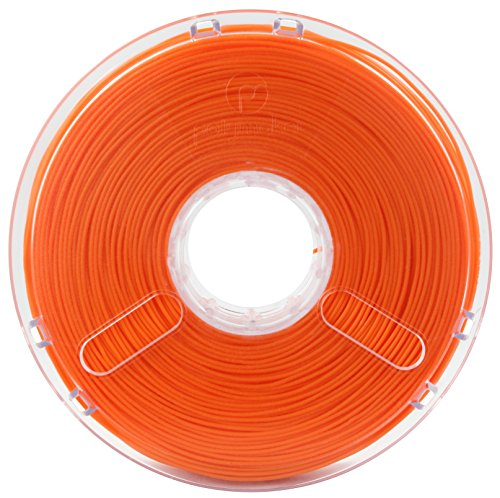 Polymaker PolyPlus PLA Jam Free Technology 2.85 mm 0.75 kg - True Orange de Buildtak