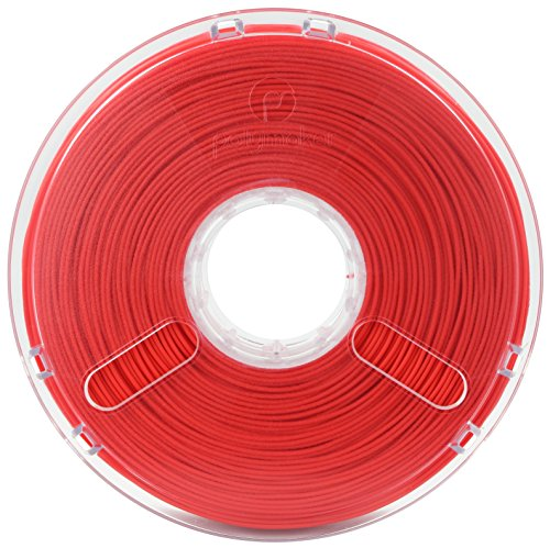 Polymaker Polyplus PLA Jam Free Technology 1.75 mm 0.75 kg - True Red de Buildtak