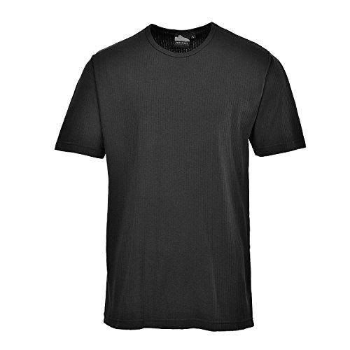 """Portwest B120 thermique-S/S T-Shirt, B120BKRXXXL"" de Portwest"