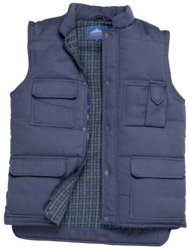 Portwest Body Warmer Polyester & Cotton 2-Pockets Navy Extra Large Ref S414NAVYXLGE de Portwest