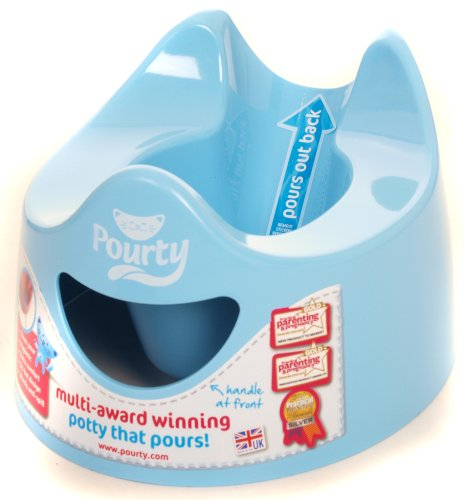 Pourty Easy-to-Pour Potty (Blue) de Pourty