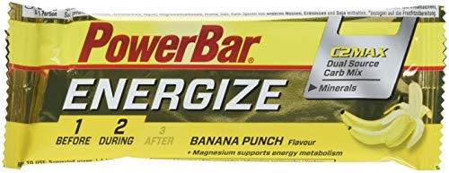 """POWERBAR Performance Bar C2MAX (Goût: Banana Punch, 1 piece) Barre énergétique"" de Powerbar"