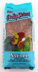 Pretty Bird Nutritional Food Daily Select Small 20lb Shaped Extruded Bird Food de Pretty Bird