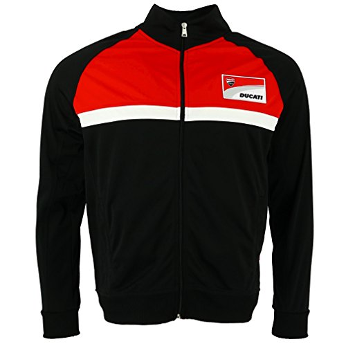 Pritelli 1826002/S Sweat Homme Ducati Corse Contrast Yoke Sweat, Taille S de Pritelli