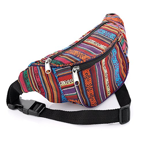 Pritties Accessories, Sac banane ville  Enfant Mixte enfant Mixte adulte Femme Homme multicolore multicolore taille unique de Pritties Accessories