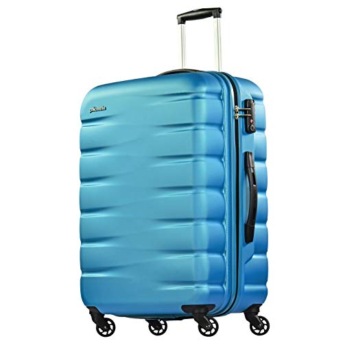 Probeetle Valise Voyager VII 68cm 71L Surface Anti-Rayures 4 Roues silencieuses Serrure TSA Turquoise de Probeetle by Eminent