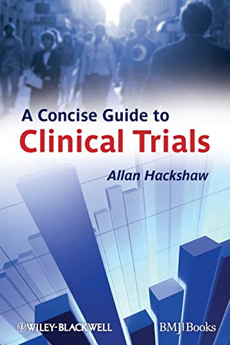 A Concise Guide to Clinical Trials de Wiley-Blackwell