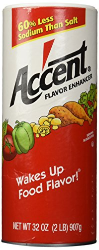 Accent Flavor Enhancer - 2 lb. canister de Accent