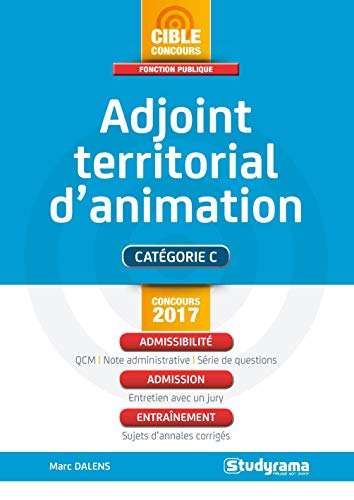 Adjoint territorial d'animation de STUDYRAMA