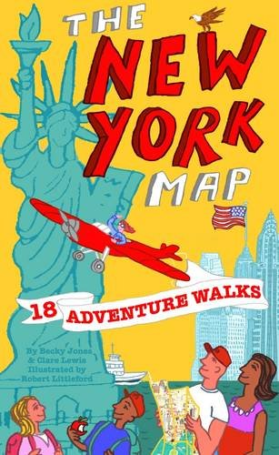 Adventure Walks New York Map: Sightseeing Walks for Families de Adventure Walks Books