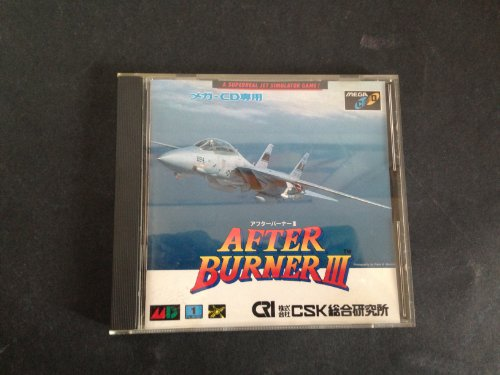 After Burner III SEGA Mega CD [Import Japan]