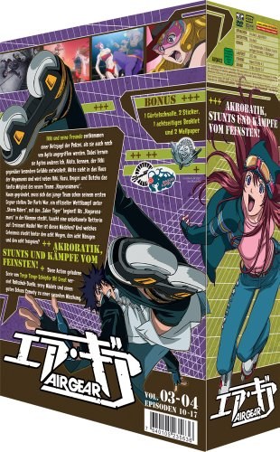 Air Gear - Box/Vol. 2 - Episode 10-17  [2 DVDs] [Import allemand] de AV Visionen GmbH