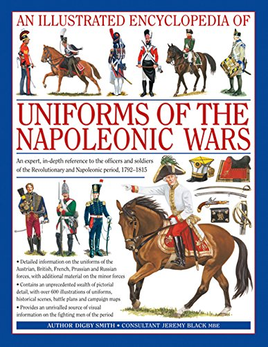 An Illustrated Encyclopedia of Uniforms of the Napoleonic Wars de Brand: Anness