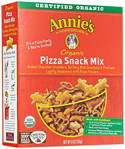 Annie's Homegrown Organic Snack Mix Bunnies, Pizza-9 oz by United Natural Foods, Inc.