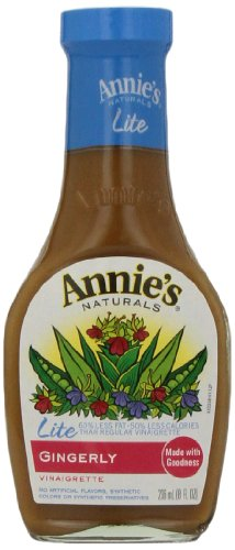 Annies Homegrown Lite Gingerly Vinaigrette, 8 Ounce by Quidsi Fulfillment Center - Dropship