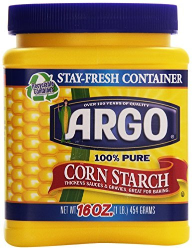 Argo 100% Pure Corn Starch, 16 Ounce by ACH Food Companies, Inc.
