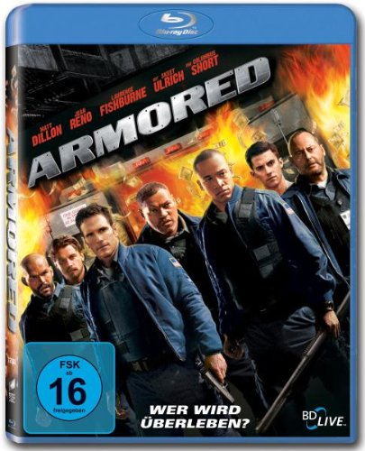 Armored [Blu-ray] [Import allemand] de Sony Pictures Home Entertainment Gmbh