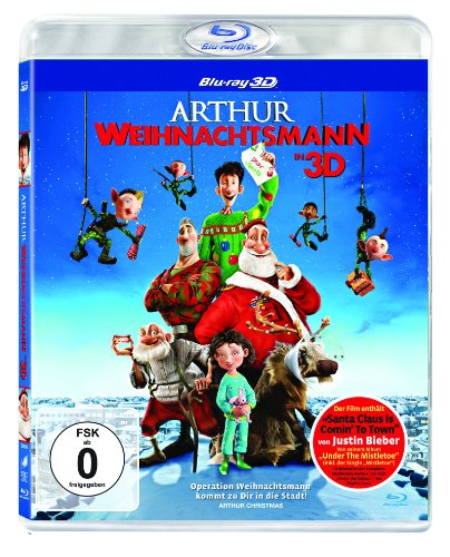 Arthur Weihnachtsmann - 3d Version [Blu-ray] [Import allemand] de Sony Pictures Home Entertainment Gmbh