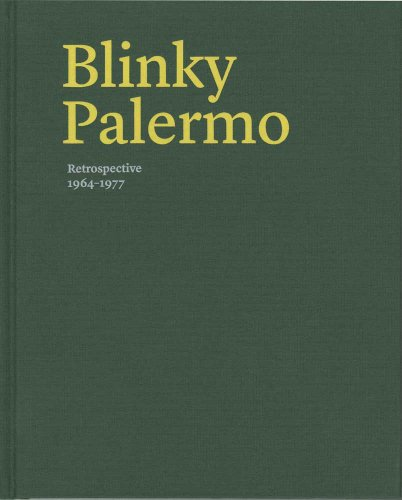 Blinky Palermo - Retrospective 1964-77 de Yale University Press