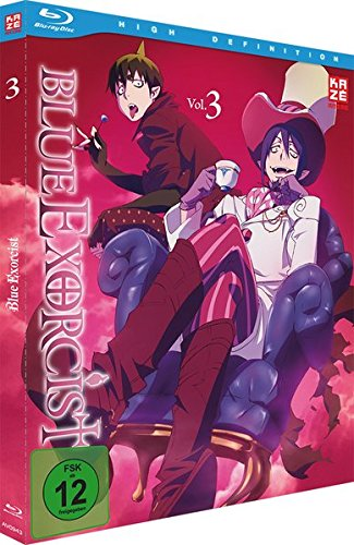 Blue Exorcist - Blu-Ray Vol.3 [Import allemand] de AV Visionen GmbH