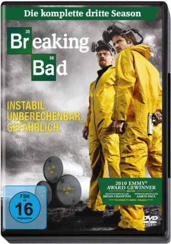 Breaking Bad-die Komplette Dritte Season-4 Dis [Import anglais] de Sony Pictures Home Entertainment Gmbh