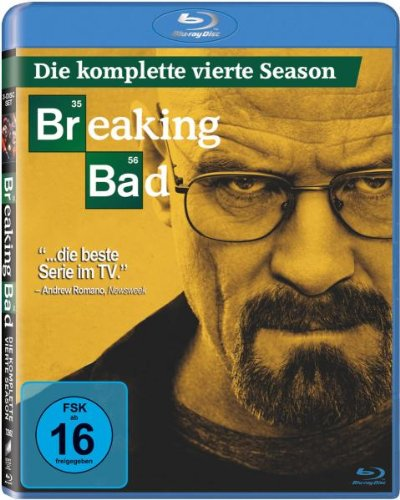 Breaking Bad-die Komplette Vierte Season-3 Dis [Blu-ray] [Import anglais] de Sony Pictures Home Entertainment Gmbh