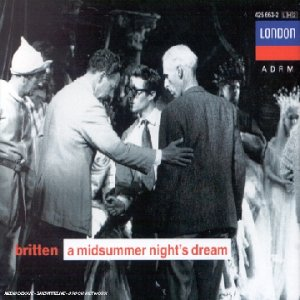 Britten : A Midsummer Night's Dream de London Records