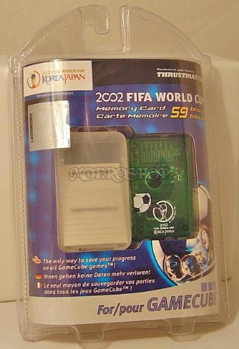 Carte Mémoire 59 Blocks 2002 Fifa World cup pour GameCube