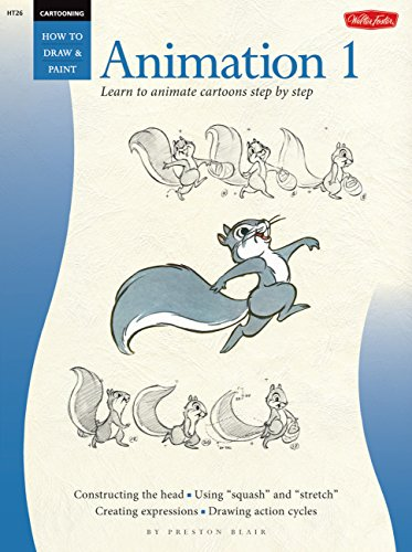 Cartooning: Animation 1 with Preston Blair de Walter Foster Publishing