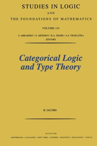 Categorical Logic and Type Theory de Elsevier Science Ltd