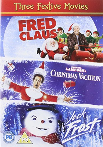 Jack Frost  Fred Claus  National Lampoons (3 Dvd) [Edizione: Regno Unito] [Import anglais] de Warner Brothers