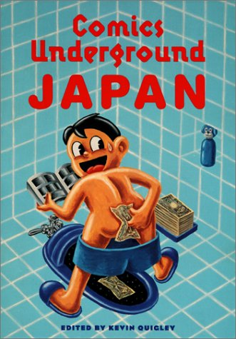 Comics Underground Japan de Blast Books,U.S.