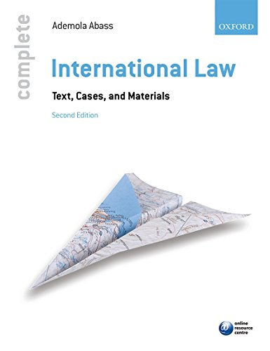 Complete International Law: Text, Cases, and Materials de OUP Oxford
