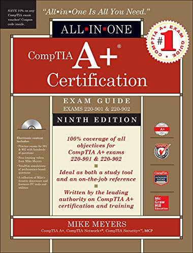 Comptia A+ Certification All-in-One Exam Guide: Exams 220-901 & 220-902 de McGraw-Hill Education