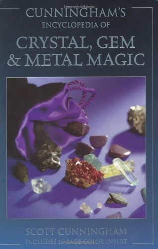 Cunningham's Encyclopedia of Crystal, Gem, and Metal Magic de Llewellyn Publications,U.S.