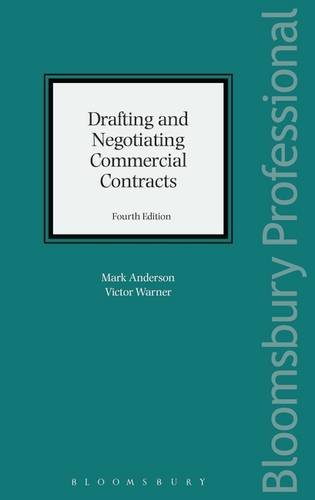 Drafting and Negotiating Commercial Contracts de Bloomsbury Professional