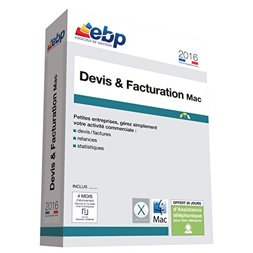 EBP Devis et Facturation MAC 2016 de EBP