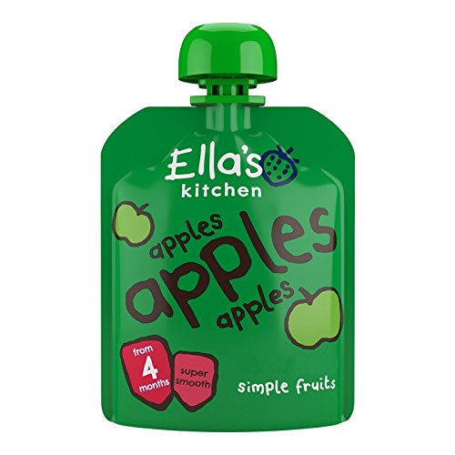 Ella's Kitchen Apples Apples Apples Super Smooth Puree Stage 1 from 4 Months 70g de Ella's Kitchen