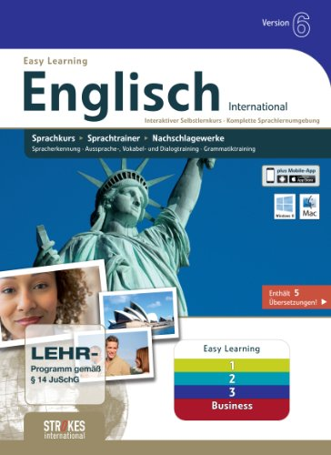 Englisch 1+2+3+Business Version 6.0 [import allemand] de Strokes Publishing GmbH