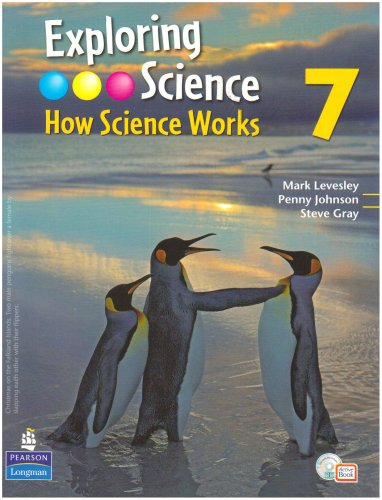 Exploring Science : How Science Works Year 7 Student Book with ActiveBook with CDROM de Longman