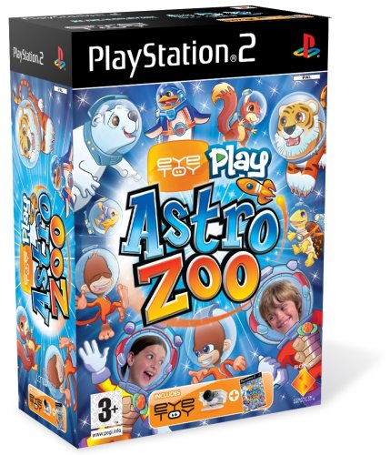 Eye Toy Play Astro Zoo + caméra de Sony