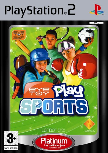 Eye toy play sports - platinum de Sony