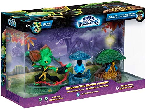 Figurine Skylanders Imaginators - Pack Aventure : Boom Bloom + Cristal Air + Treehouse de ACTIVISION