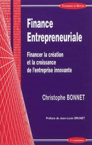 Finance entrepreneuriale de Economica