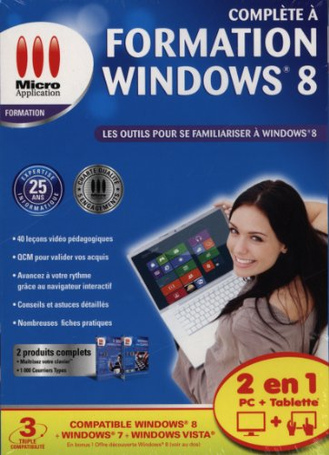 Formation complète à Windows 8 de Micro Application